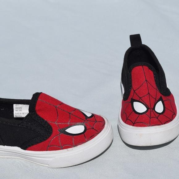 00f34a08e6f6 Marvel Kids Toddler Spiderman Red Slip On Shoes. M 5afd95533800c518b716ef02